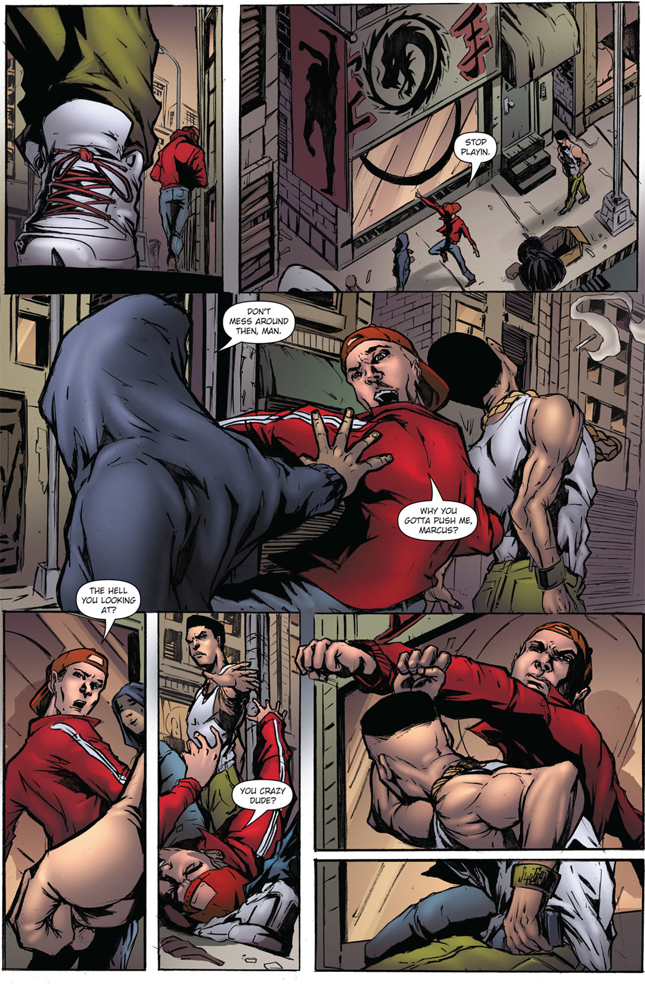 Grimm Fairy Tales (2005) Issue #38 #41 - English 4