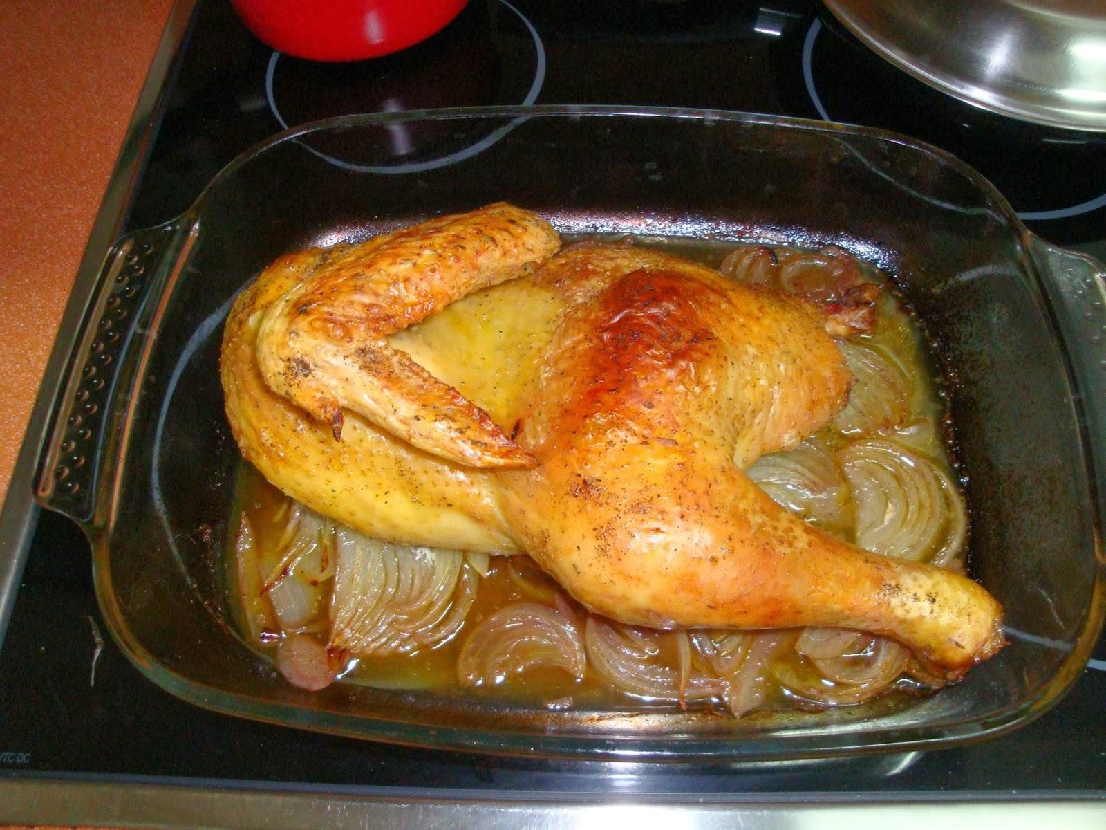 Memento Mori!: Hoy, receta: Pollo al Horno con cebolla, vino y ...