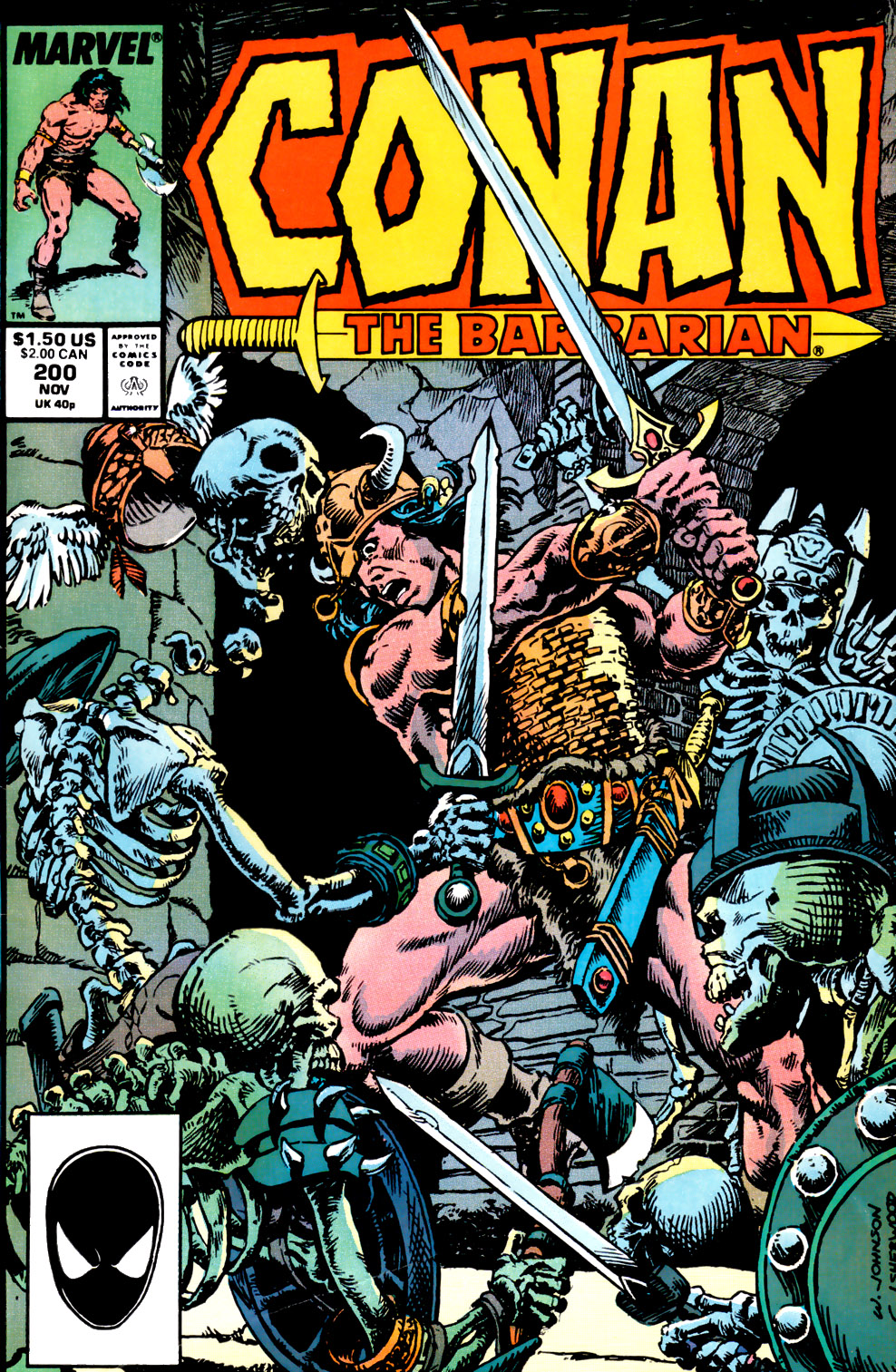 Conan the Barbarian (1970) Issue #200 #212 - English 1