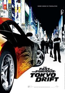 Rapidos y Furiosos 3: Reto Tokio / Fast & Furious 3: Tokyo Drift / A Todo Gas 3: Tokyo Race Poster