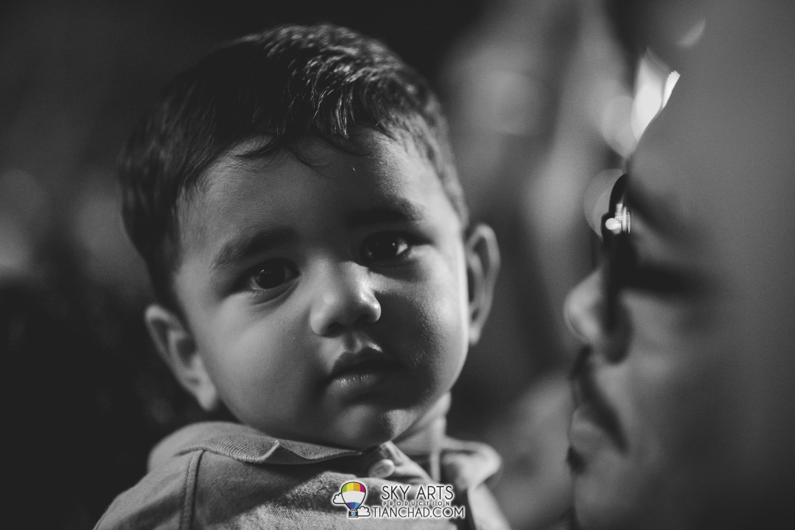 Photowalk to Thaipusam 2015 Batu Caves [Part 2]: Kid's gorgeous big eyes