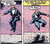 Secret Origins #5, the Spectre, Jim Corrigan has no shadow
