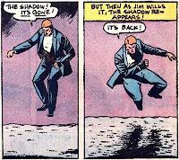Secret Origins #5, the Spectre, Jim Corrigan has no shadow