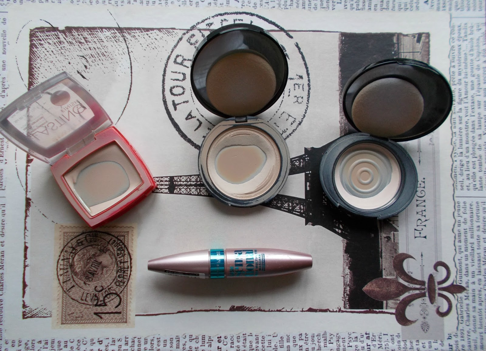 makeup empties reviews rimmel soap and glory no7 powder maybelline lash sensational mascara