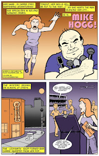 Karaoke Comics comic books Russ Kazmierczak KaraokeFanboy Press