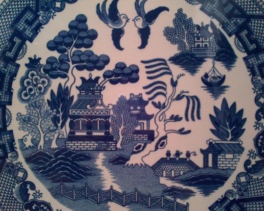 karya babah antik keramik biru putih