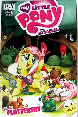IDW Micro-series comic #4 Cover A