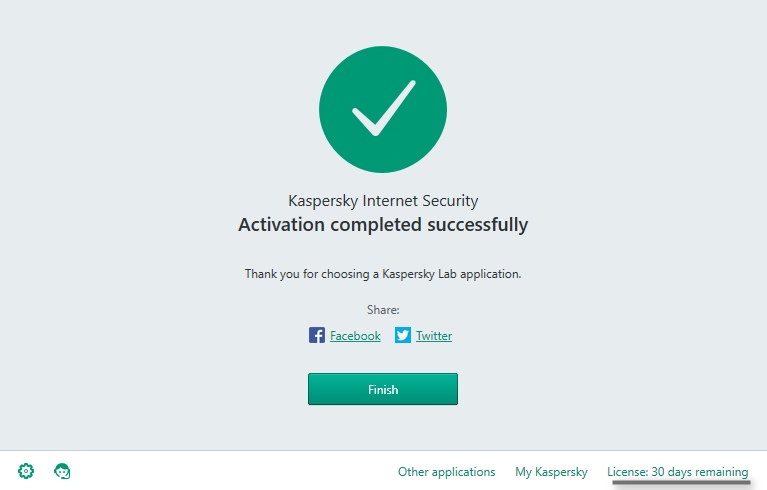 Kaspersky trail reset work with av is and pure 2.0 : ulterco