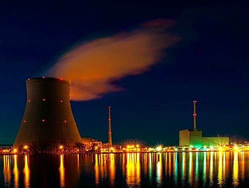 Isar nuclear power plant in Germany. (Credit: Bjoern Schwarz/flickr) Click to enlarge.