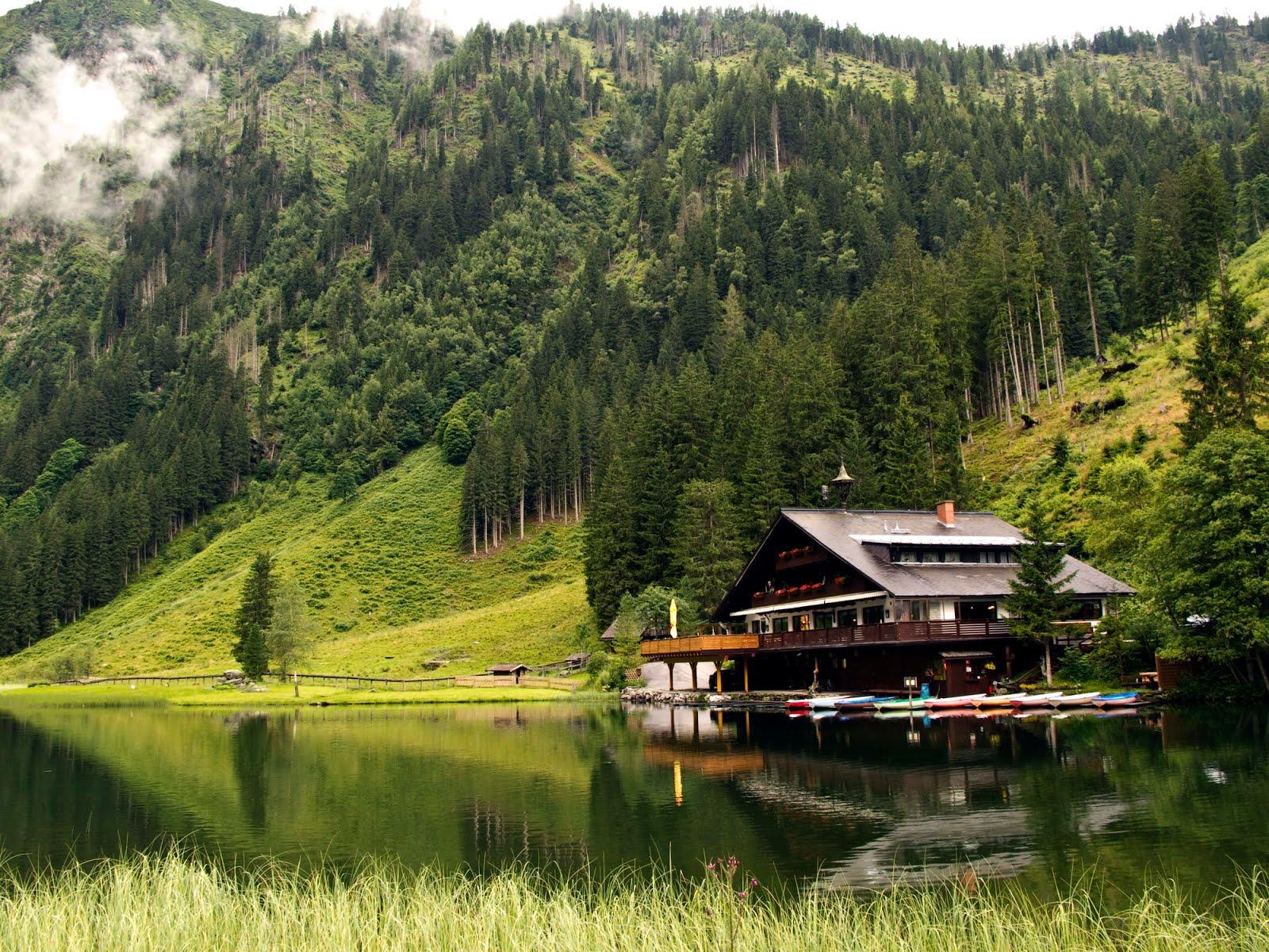 Banco de im genes para ver disfrutar y compartir bodensee austria una ciudad con paisajes - Mountain cabin plans close to nature ...