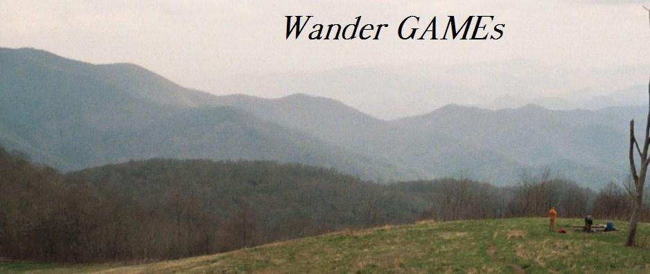 Wander GAMEs