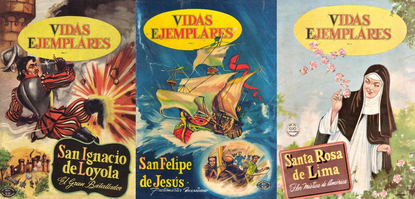 VIDAS EJEMPLARES Ed. Novaro - Colección completa 416 ord. + 13 extr.