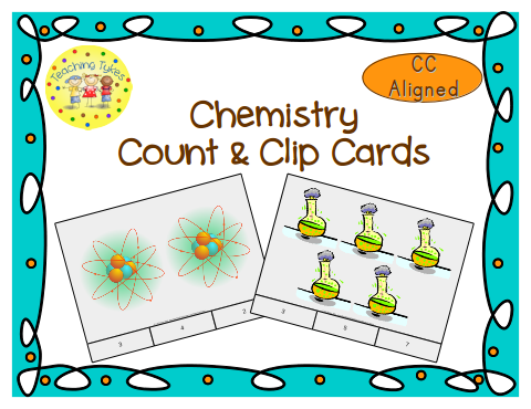 http://www.teacherspayteachers.com/Product/Chemistry-Count-Clip-Cards-Common-Core-Aligned-903130
