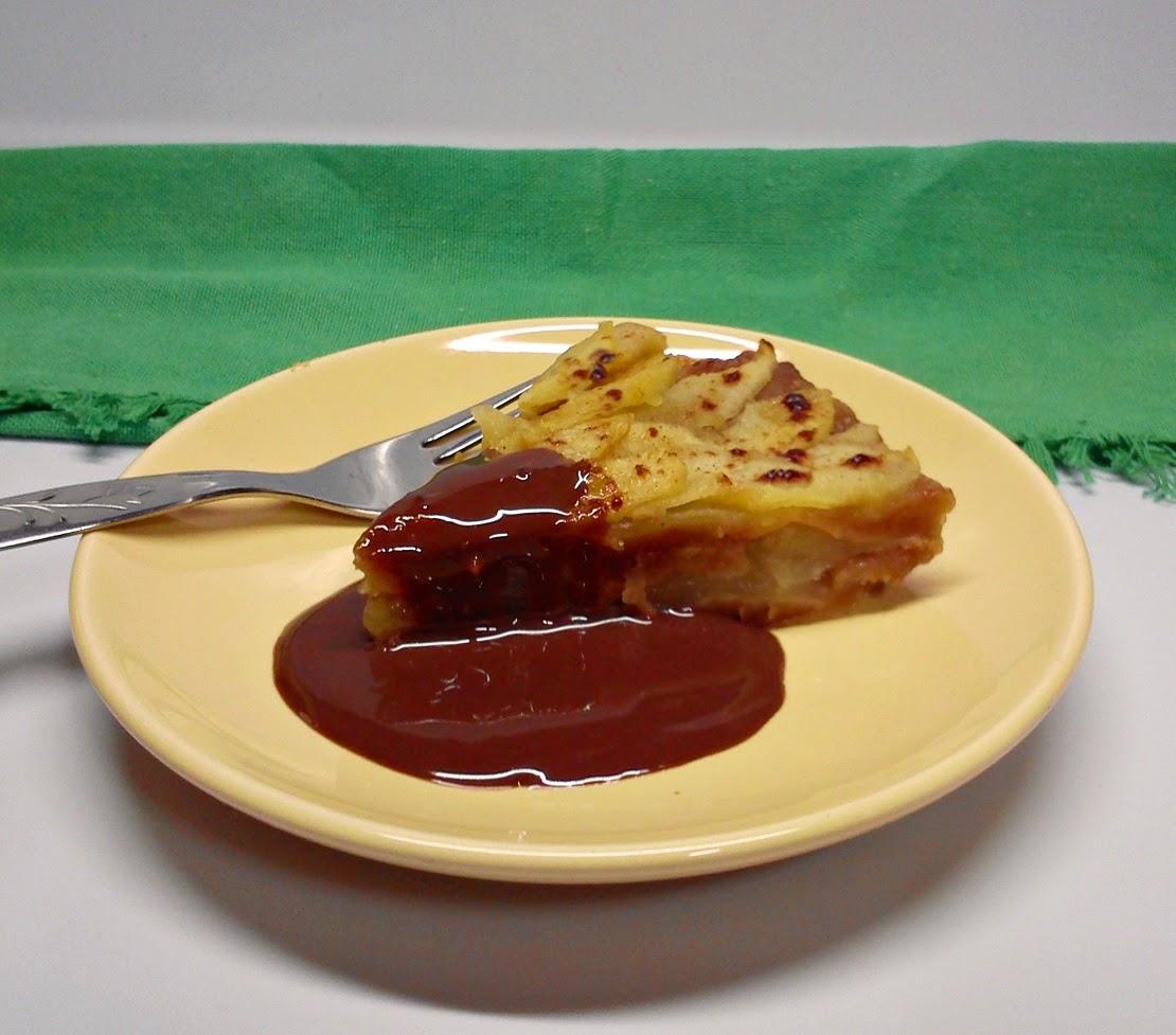 Tarta de Manzana al  Micro.