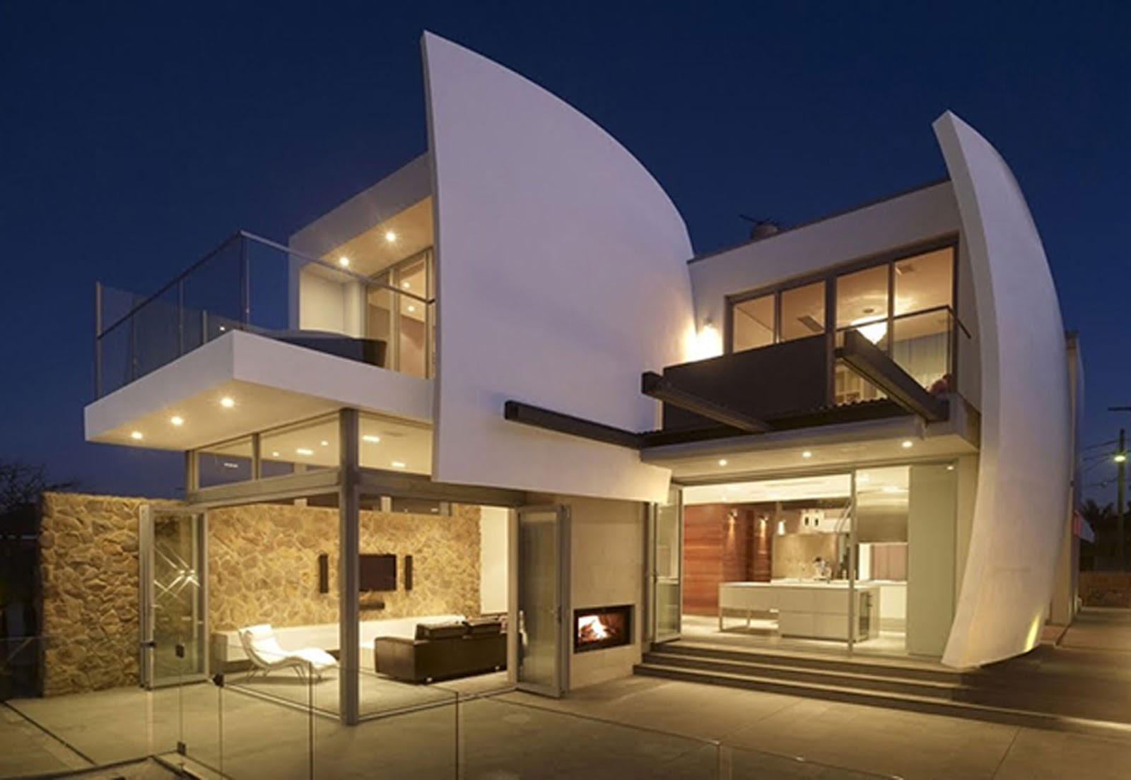 Luxury home with Futuristic Architecture Design ~ HOMEVERO