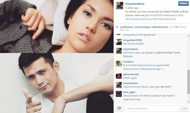 Maria Ozawa and Robin Padilla MMFF 2015 Movie