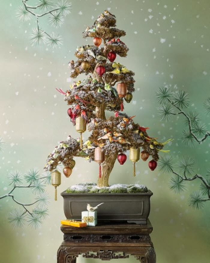 Christmas Tree Decorating Ideas: Oh, By The Way...: Behold The Non-Traditional Holiday Tree
