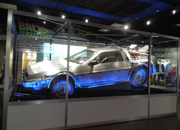Back to the Future DeLorean Time Machine car