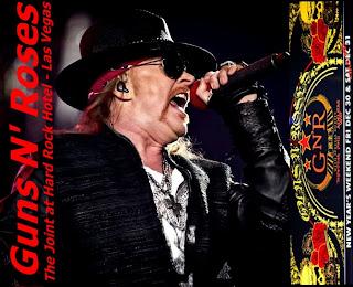 Download CD Guns N' Roses – The Joint at Hard Rock Hotel Las Vegas (2012)