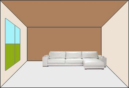 Cuatro maneras de pintar un ambiente for Paredes 2 tonos