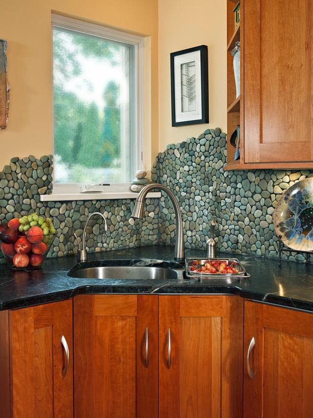 Ceramic + Glass Tile : Can't Decide Between Ceramic And Glass? This