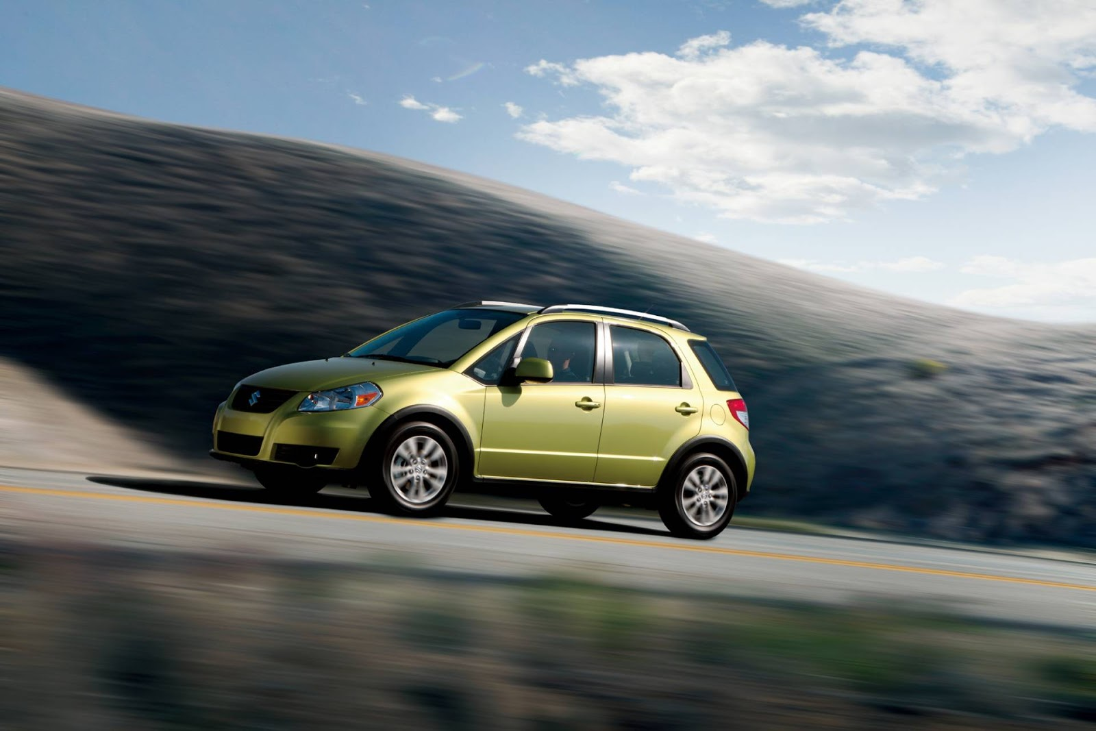 The Best Of Cars  Suzuki Sx4 2013