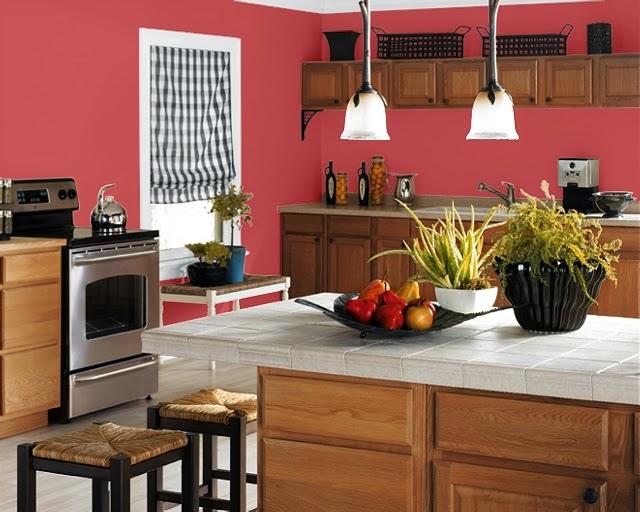 Conseils pour choisir les couleurs de peinture de cuisine - Choisir une couleur de peinture ...