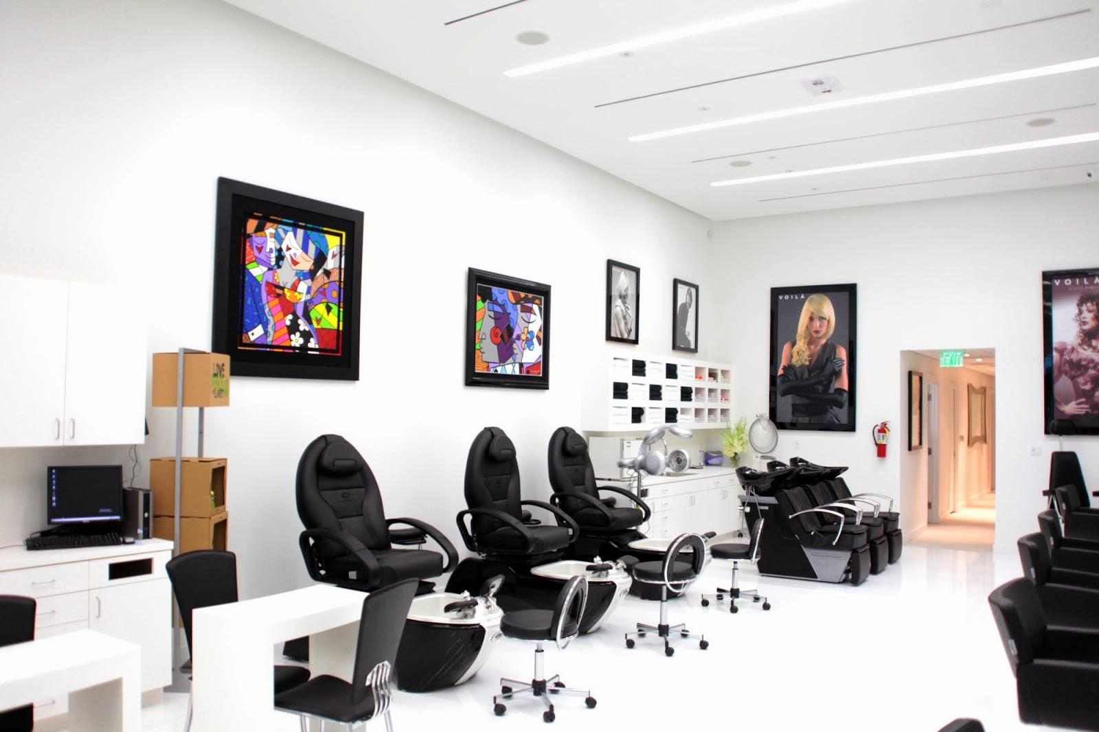 Fotos de decoraciones de salones de belleza 46