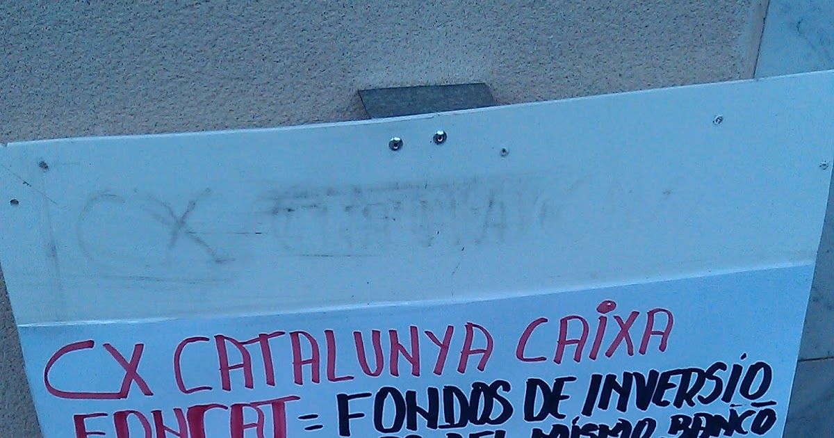Hipotecados terrassa catalunya caixa enga a estafa y for Oficines catalunya caixa