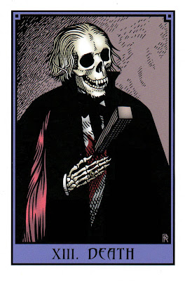Death - The Vampire Tarot by Robert M. Place