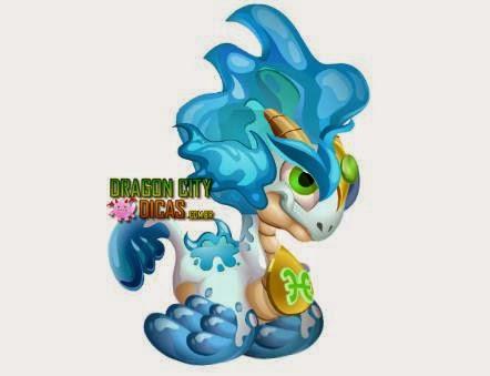Dragão de Peixes do Zodíaco