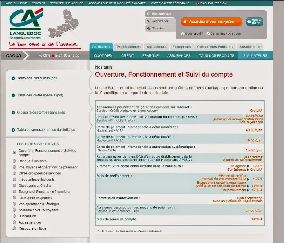 Le Carnet De Cheque Est Payant Au Credit Agricole Cap D Agde Votre