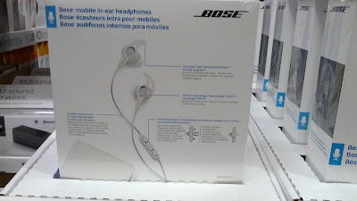 Bose Mobile in-ear audio headphones with microphone