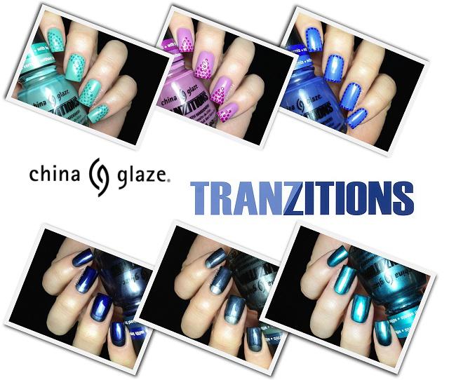 Fashion Polish: China Glaze Tranzitions Collection Review
