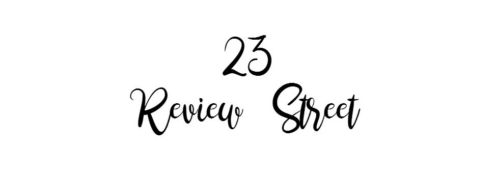 23 Review Street - a Book Blog