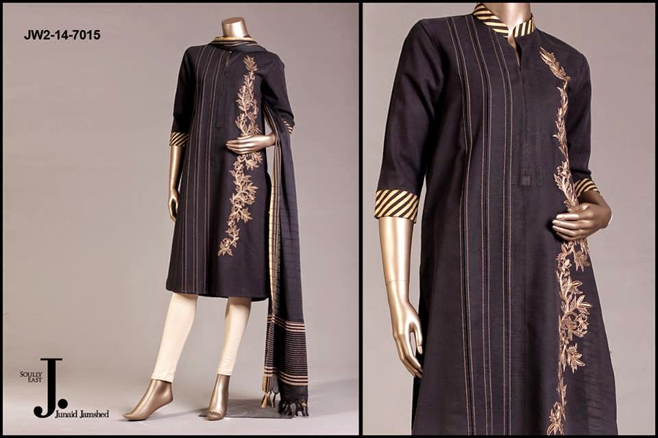 J.Junaid Jamshed Latest Party Wear Dress