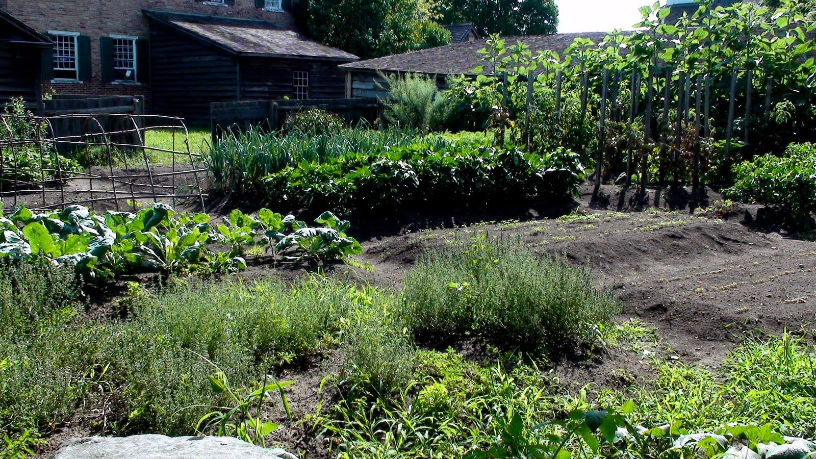Garden at Upper Canada Village