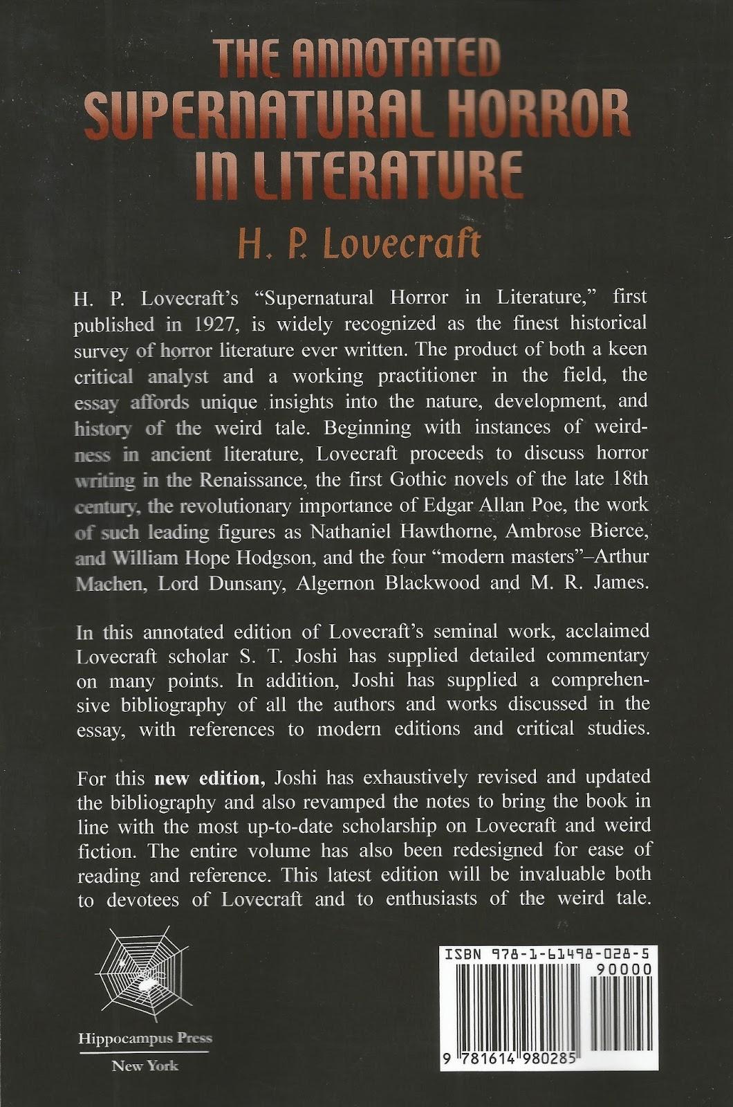 supernatural entities essay