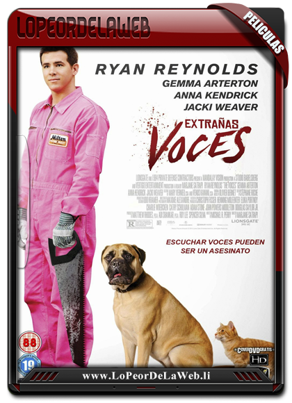 The Voices (2014) BRrip 720p Latino-Ingles
