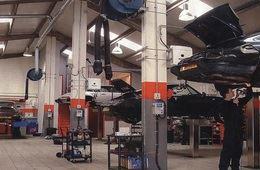 تخطيط وإدارة ورش المركبات