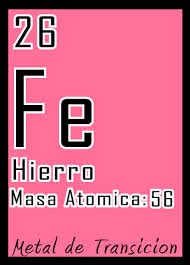 elemento tabla periodica aqui encontramos la tabla periodica donde seale al hierro aqui en mas grande podemos ver su peso y numero atmico - Tabla Periodica De Los Elementos Hierro