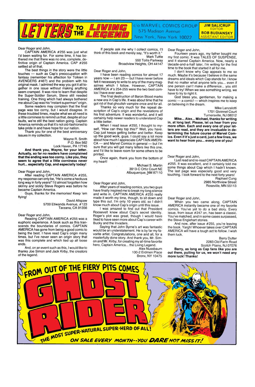 Captain America (1968) Issue #259 #174 - English 23