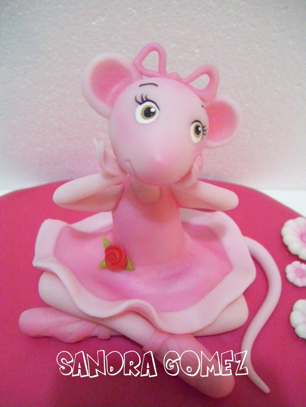 ... de tortas de angelina ballerina es una serie de dibujos animados