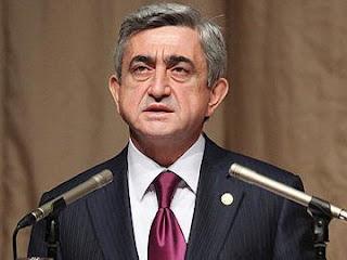 serj serzh sargsyan armenian president war azerbaijan artsakh karabakh