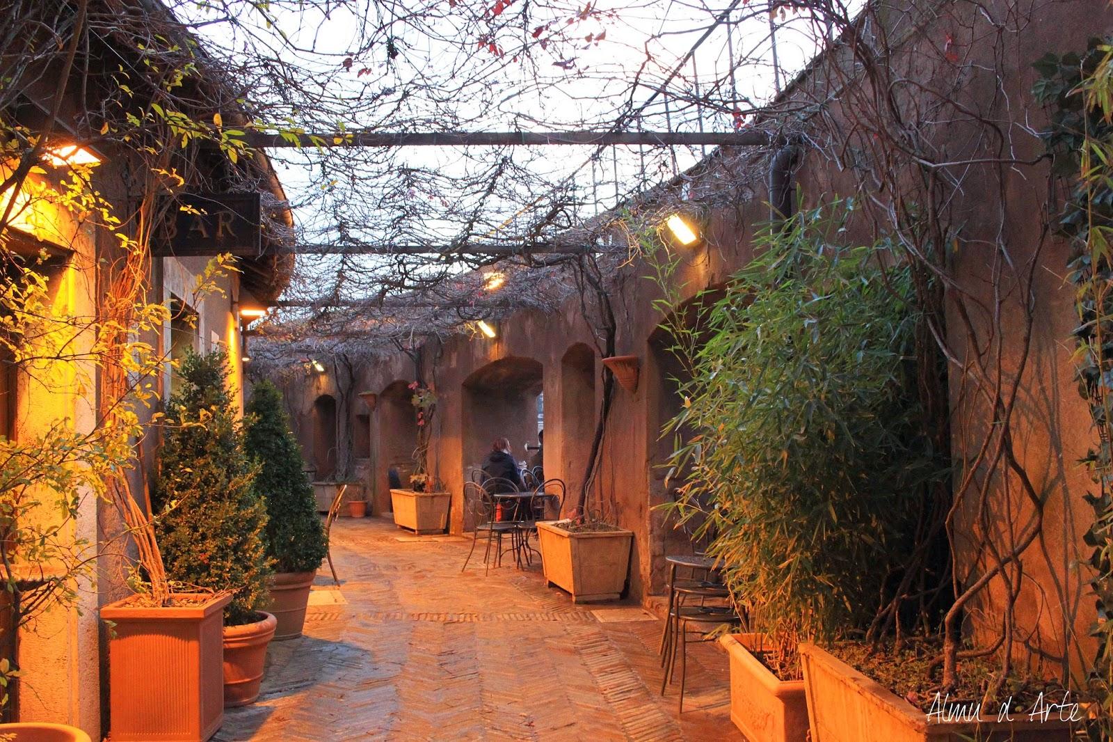 Interior del Castillo del Ángel