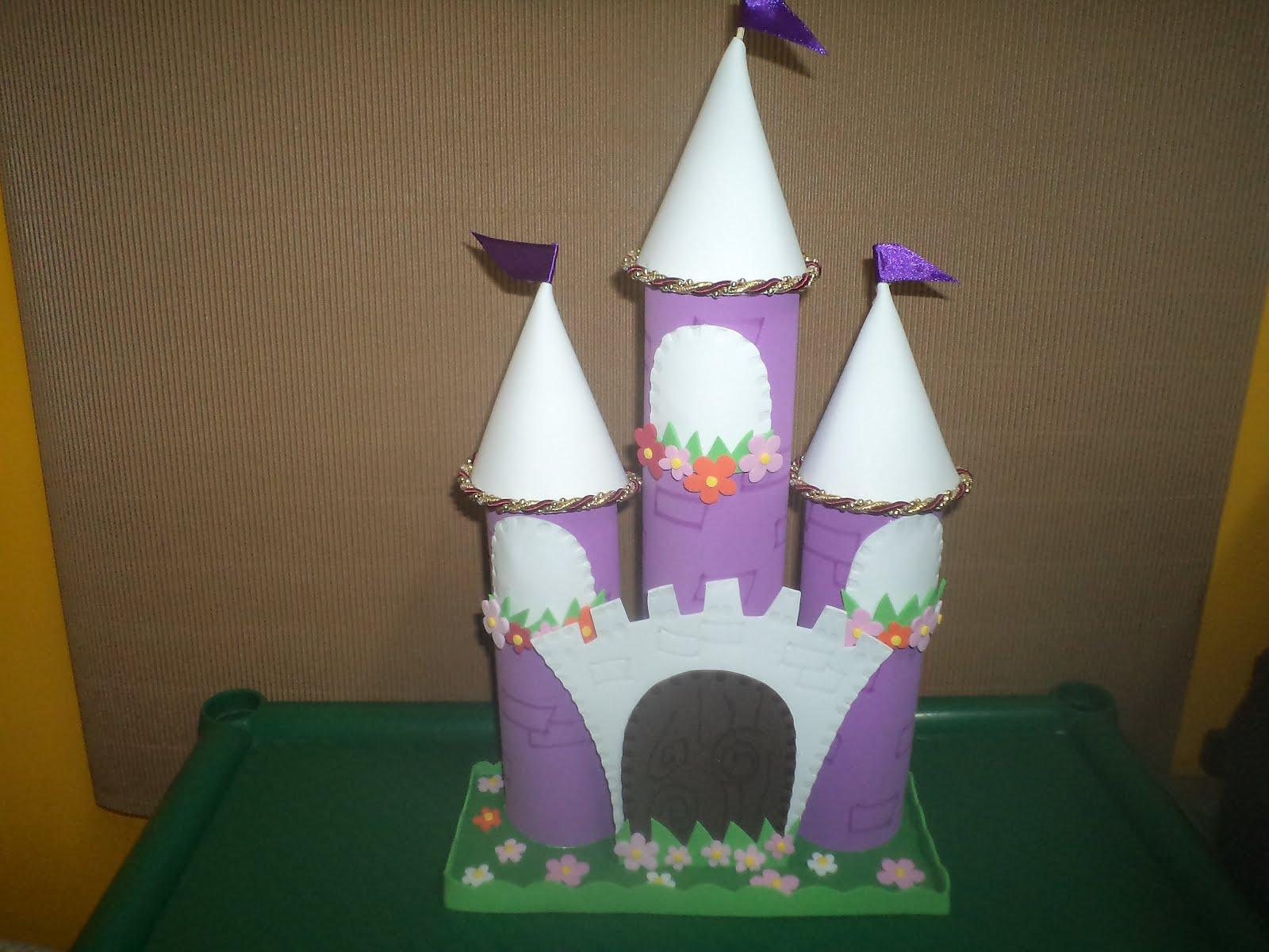 Imágenes de castillos en goma eva - Imagui