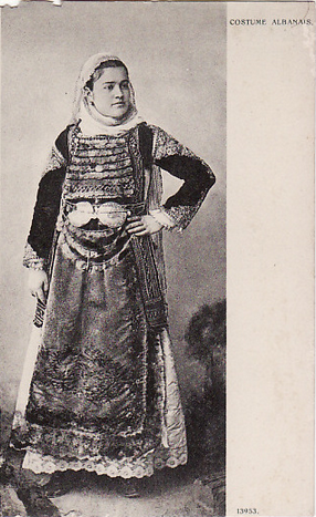 Costume Albanais(Greece)