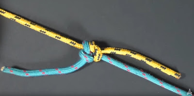 demonstration of Fisherman's Knot