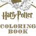 Primeiras imagens do livro para colorir de Harry Potter