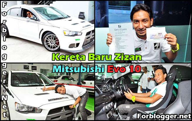 Zizan Mitsubishi Evo 10